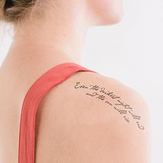 Danny Fein is raising funds for Litographs Tattoos: Wearable Tributes to Iconic Books on Kickstarter! A beautiful collection of (temporary) literary tattoos, and a chance to join the World's Longest Tattoo Chain. 1000 Tattoos, New Tattoos, Cool Tattoos, Tatoos, Dark Tattoo, Get A Tattoo, Les Mis Tattoo, Light And Dark Quotes, Piercing Tattoo