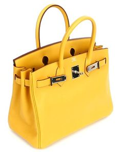 Birkin Hermes Yellow