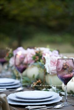 Simple Elegance & a romantic inspired Thanksgiving table - FRENCH COUNTRY COTTAGE