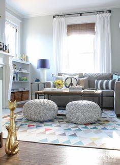 61 Family Friendly Living Room Interior Ideas | Gorgeous Interior ...
