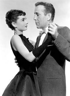 voxsartoria — The Bow Tie Crowd.  Humphrey Bogart and Audrey...