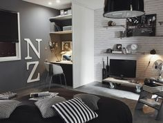 D co chambre on pinterest quartos stickers and teen bedroom for Stickers pour chambre d ado