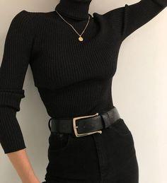 image February 14 2020 at fashion-inspo Look Fashion, Korean Fashion, Winter Fashion, Fashion Black, Fashion Women, Fashion Basics, Ulzzang Fashion, Gothic Fashion, 90s Fashion