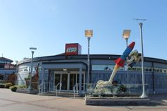 The LEGO Store in Disney Springs is located in the Marketplace section of Disney Springs. It is a must stop for every LEGO loving family.