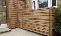 Hardwood storage units