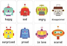 Miss Poppins: Teaching Children about Positively Coping with their Emotions - quotes Miss Poppins, Mr Printables, Oh Yeah Baby, Robots For Kids, Les Sentiments, Language Development, Project Nursery, Marketing, Early Learning