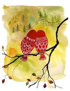 Love birds.. again :D