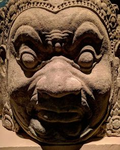 Good sculpting!  #Cambodia #sculpture #khmer Modern Asian, Great Works Of Art, Angkor Wat, Cambodia, Sculpting, Sculptures, Carving, Sunglasses, House