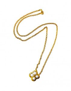 Cynthia Rowley - Gold Plated Charm Necklace | Accessories by Cynthia Rowley