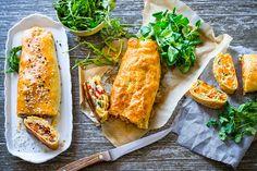 Hostina může začít! Veggie Recipes, Veggie Food, Cheesesteak, Chicken Wings, Veggies, Meat, Breakfast, Ethnic Recipes, Amazing