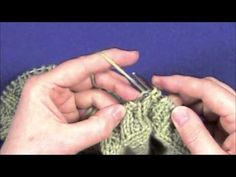 Neck Ribbing, Part 2 of 2 - YouTube. Great tutorial for learning to pick up stitches and knitting v-neck ribbing.