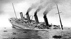 The HMHS Britannic was the third and largest Olympic-class ocean liner of the White Star Line. She was the sister ship of RMS Olympic and RMS Titanic. It was at 09:07, only fifty-five minutes after an explosion that Britannic sank.