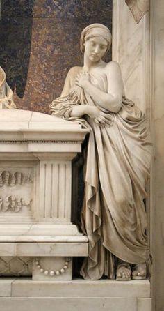 Giovanni duprè, monumento a berta maltke withfield, 1864 Roman Sculpture, Art Sculpture, Sculpture Romaine, Cemetery Art, Roman Art, Greek Art, Classical Art, Vanitas, Art History