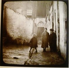 Public health nursing, upstate New York, Lewis Hine, photographer. Lewis Hine, Old London, Slums, Old Buildings, Old Photos, Ireland, Backdrops, Old Things, Working Class