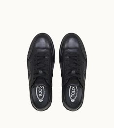 Dettaglio frontale Sneakers in Leather Sneakers, All Black Sneakers, Louis Vuitton, Boutique, Stuff To Buy, Men, Shopping, Shoes, Fashion