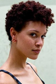 short curly hairstyles for black women with natural hair - Google Search