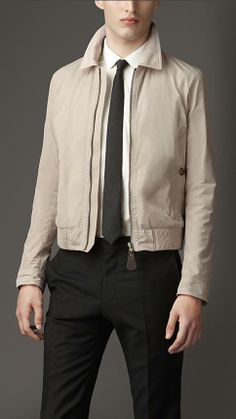 Burberry London Zip Front Blouson