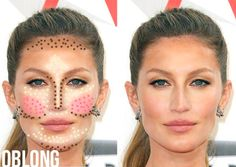 Beauty Tips- How To Contour and Highlight like Kim Kardashian- Check out this makeup tutorial by GossMakeupArtist on YouTube. Beauty tips of celebrities...