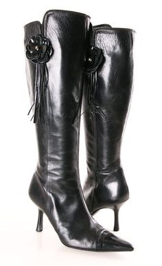 Chanel boots <3  A girl can dream can't she.