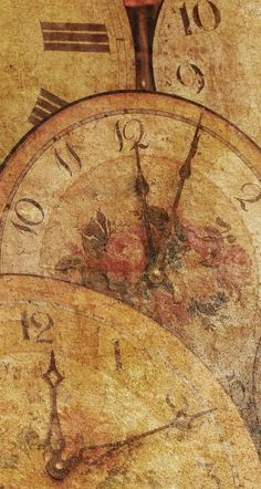 F Time Clock, Vintage World Maps, Organization, Getting Organized, Organisation, Tejidos