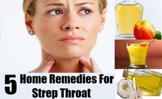 Home remedies for strep throat pain