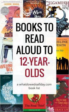 Good Books to Read Aloud to and Start a Conversation! A list of best books to read aloud to and older tweens. Adventure, fantasy, contemporary realism and humor. Find a good book for every family! Books For Boys, Childrens Books, My Books, Good Books For Tweens, Books For Tween Girls, Read Aloud Books, Best Books To Read, Books Teachers Should Read, Book Suggestions