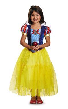 #xmas #Christmas #Trendy Halloween - #Disguise Snow White Deluxe Child Costume - AdoreWe.com