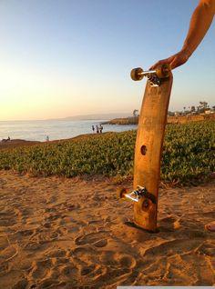 Whiskey Barrel Stave Long Board/Skateboard by HungarianWorkshop, $125.00