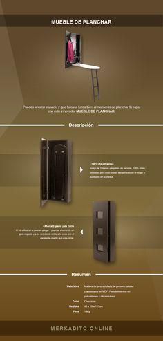 Mueble / Burro De Planchar 100% Precio Buen Fin - $ 1,999.00