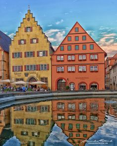Rothenburg Ob Der Tauber, Medieval, Mansions, House Styles, Houses, Pictures, Amusement Parks, Black Forest, Baltic Sea
