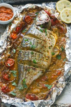 I have 9 of the best clean eating healthy baked fish recipes that are quick and easy to make. I think you'll love the variety and ease of these recipes. Healthy Baked Fish Recipes, Whole Fish Recipes, Best Fish Recipes, Tilapia Fish Recipes, Healthy Baking, Salmon Recipes, Grilled Fish Recipes, Whole Red Snapper Recipes, Fish Dishes