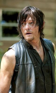 Although I kind of hate to admit it, I love Daryl. I'd want him on my side during the zombie apocalypse!