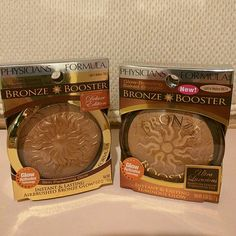 Physicians Formula Bronzer Duo - Glow Boosting Airbrushing Bronzing Veil in Light to Medium - Glow Boosting Baked Bronzer in Light to Medium  Both are new and never tested.  No trades.  Please submit any offers via the offer option. Physicians Formula Makeup Bronzer