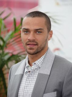 "Jesse Williams.. I call him ""dr blue eyes"" ;)"