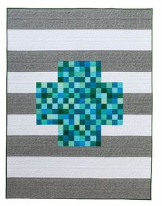 Day 4 ++ Modern Plus Sign Quilts Book Hop ++ Postage Plus and Rick Rack Runner (Meadow Mist Designs) Rick Rack, Traditional Quilt Patterns, Plus Quilt, Charm Pack Quilts, Paper Piecing Patterns, Twin Quilt, Book Quilt, Cool Patterns, Sign Design