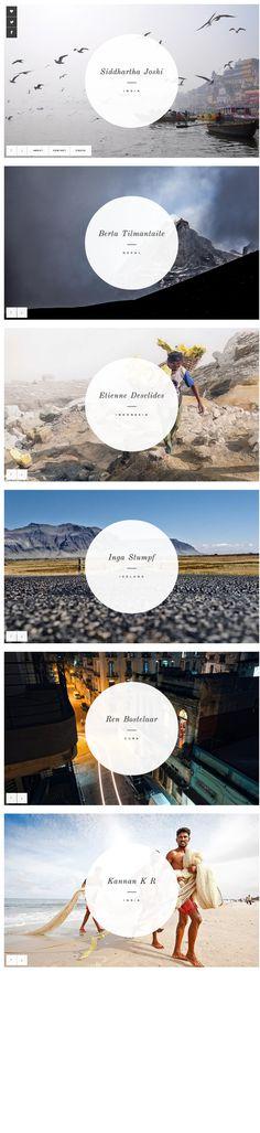 http://www.letstravelsomewhere.com/ #design #graphicdesign #designinspiration