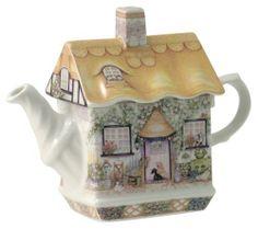 Rose Cottage .. James Sadler Teapot.
