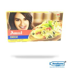 Amul Processed Cheese: Amul Processed cheese is 100% vegetarian The cheese is wholesome in nature and refreshingly creamy. It is processed cheese. It can be used in baking, cooking, as a garnish or can be eaten alone. Net weight of the pack is 500gm.  Nutrient content: Enriched with protein, vitamin A, and calcium. Amul processed cheese is very nutritious and rich in milk protein. Cheese Online, Eating Alone, Milk Protein, Vitamins, Dairy, Vegetarian, Content, Baking, Nature