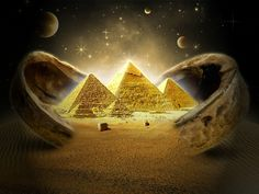 sand desert egypt nighttime skyscapes pyramids great pyramid of giza 1600x1200 wallpaper_www.wallpaperhi.com_4