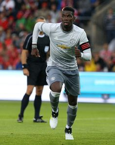 Paul Pogba of Manchester United in action against Valerenga today at Ullevaal Stadion on July 30, 2017 in Oslo, Norway.