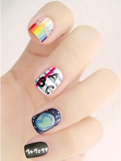 Candy nail ABC