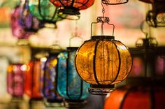 Colored Lanterns in Beijing From #treyratcliff at www.StuckInCustom... - all images Creative Commons Noncommercial.