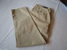 Men's Tommy Hilfiger pants 36 W 34 L slimmest fit 7847074 Safari pt 934 Universi #TommyHilfiger #pants