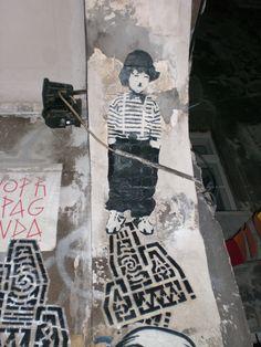 chaplin in the roof - Berlin