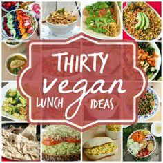 Vegan Lunch Ideas