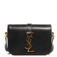 a734b5b2b91b Fashionphile - SAINT LAURENT Smooth Calfskin Classic Small Monogram  Universite Bag Black Bags