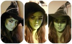 Shawna's Beauty Blog: Wicked Witch Makeup Tutorial