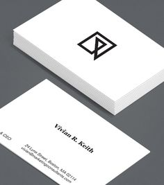 Crisply Done: this crisp, confident design gives your business's branding top priority, with the freedom to add your unique logo to the front. #moocards #luxebymoo #businesscards