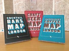 Blue Crow London Maps