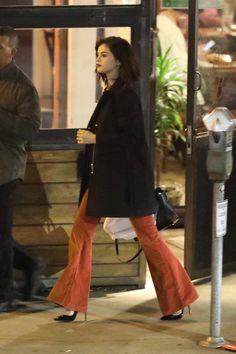 WHO: Selena Gomez WHERE: On the street, Sherman Oaks, California WHEN: January 17, 2017 Photo: AKM-GSI